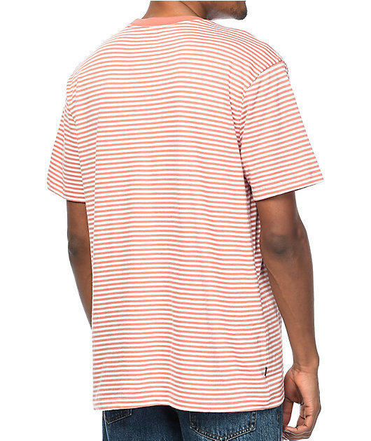 Obey Apex Rose Striped T-Shirt