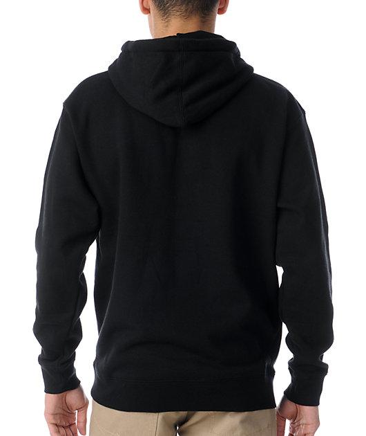 Obey Box Logo Black Pullover Hoodie