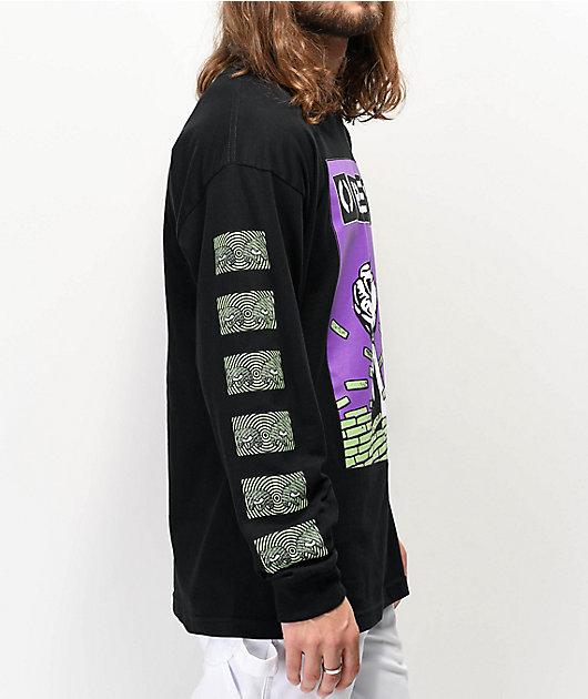 Obey Bust Out camiseta negra de manga larga