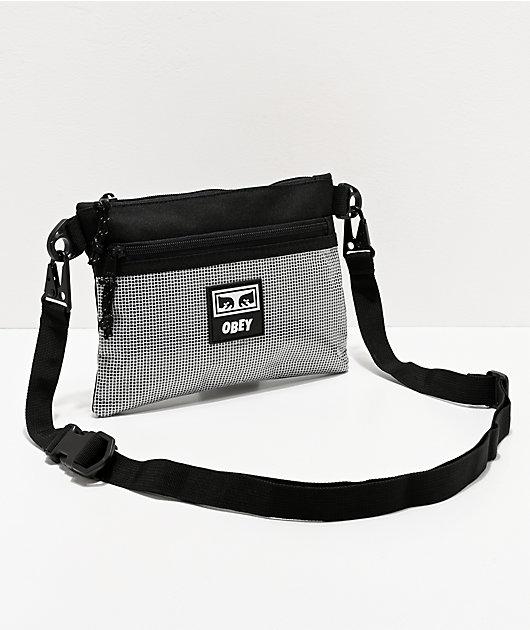 Obey Conditions Black Shoulder Bag