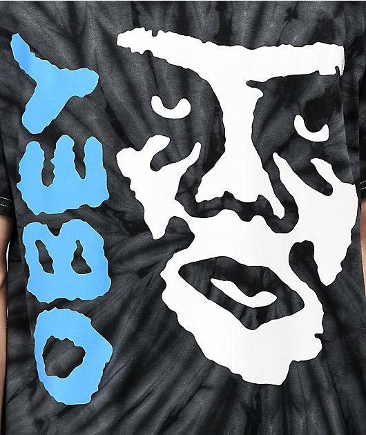 Obey Creeper 2 Spider camiseta negra