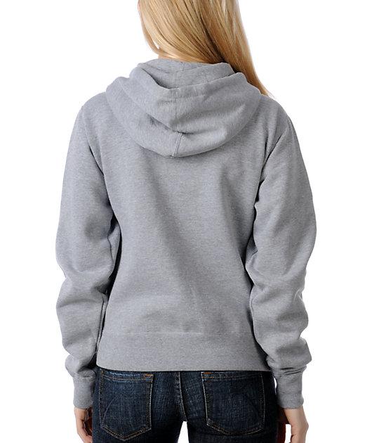 Obey Everlasting Grey Pullover Hoodie
