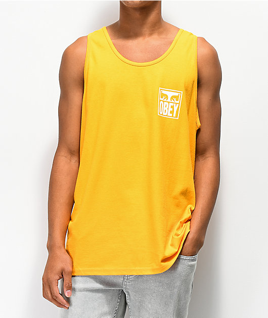 Obey Eyes Icon Gold Tank Top