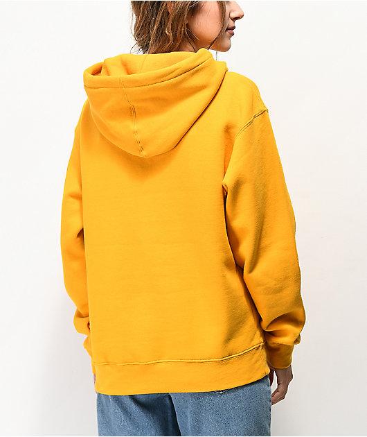 Obey Fashion Font Gold Hoodie