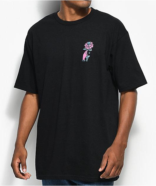 Obey Grown Wild Black T-Shirt