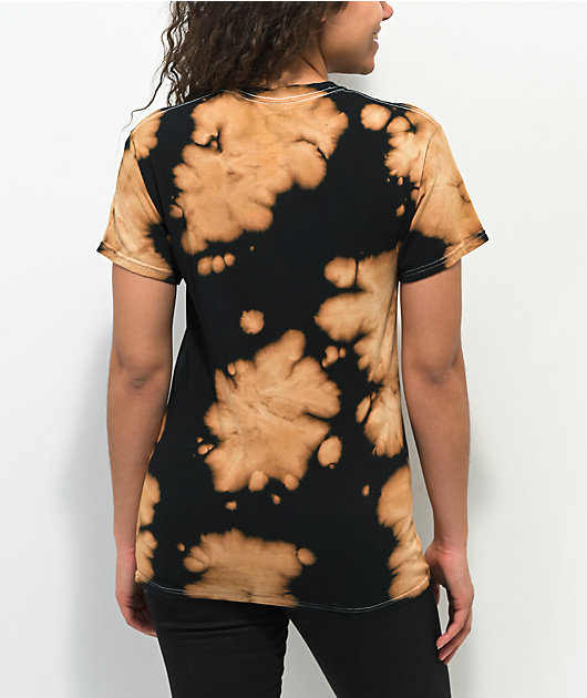 Obey Icon Face Black Bleach Wash T-Shirt