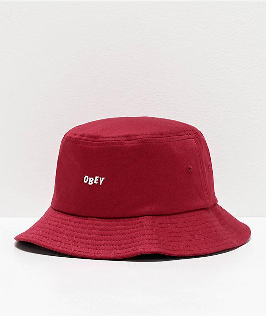 Obey Mens Jumbled Bucket Hat