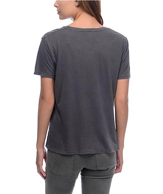 Obey Make Art Not War 2 Graphite T-Shirt