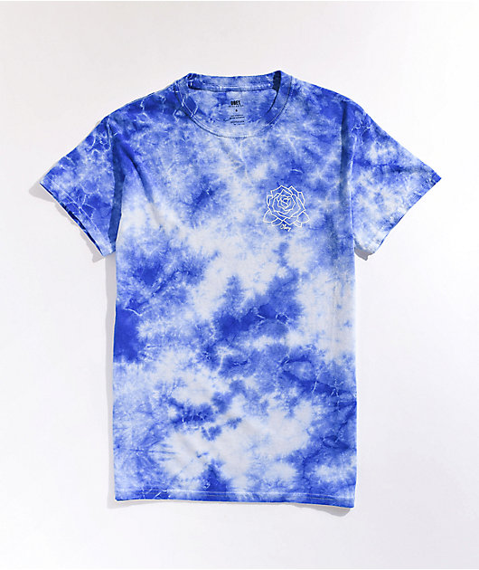 Obey Mira Rosa Cobalt Tie Dye T-Shirt