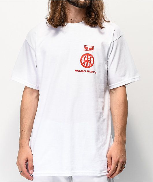 Obey One Love White T-Shirt