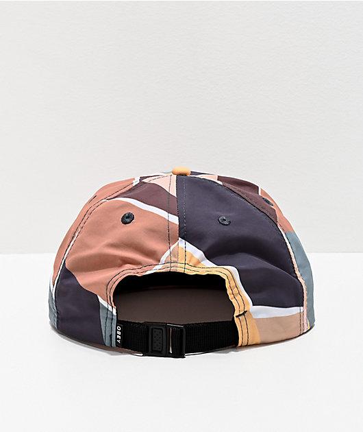 Obey Sherman gorra multicolor