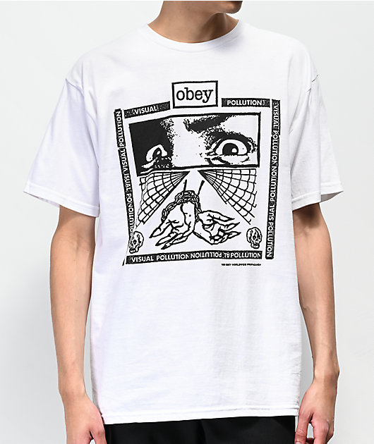 Obey Shockbound White T-Shirt