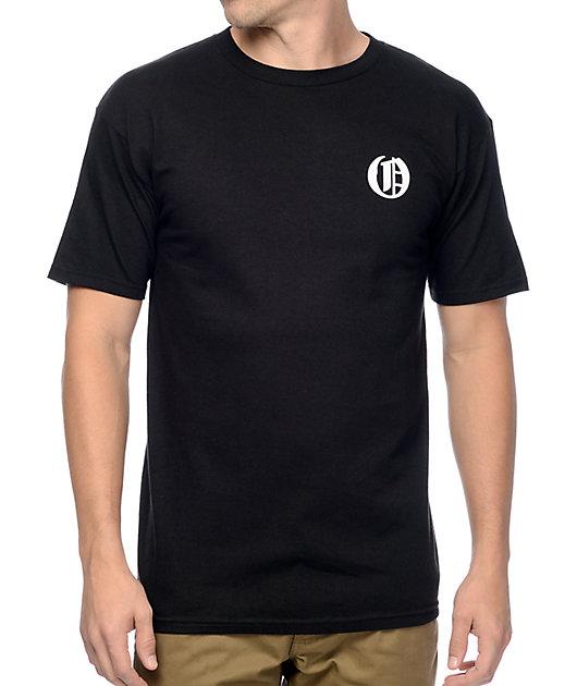 Obey Spider Rose Black T-Shirt