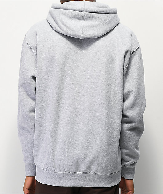 Obey Sports II Grey & Purple Hoodie