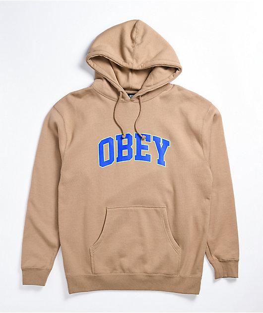 Obey Sports Sandstone Hoodie