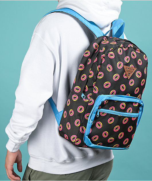 Odd Future All Over Donut Black Backpack