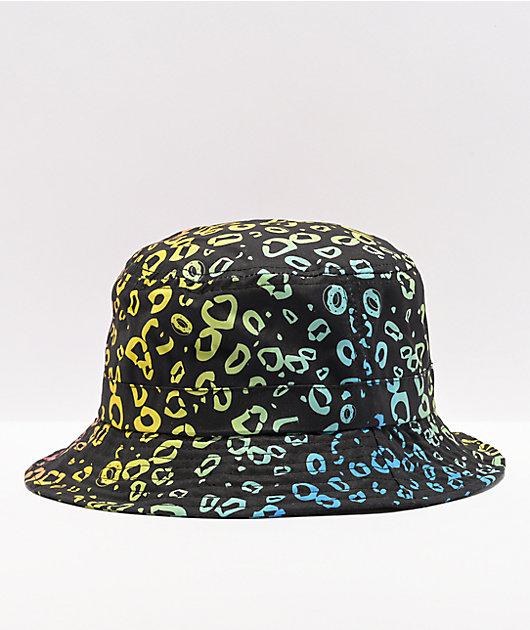 Odd Future Black, Pink & Yellow Bucket Hat