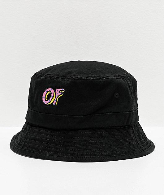 Odd Future Black Bucket Hat