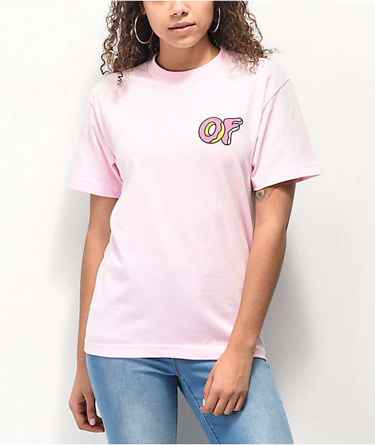 Odd Future Cereal Bowl Light Pink T-Shirt