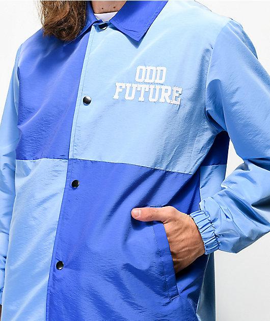 Odd Future Colorblock chaqueta entrenador azul