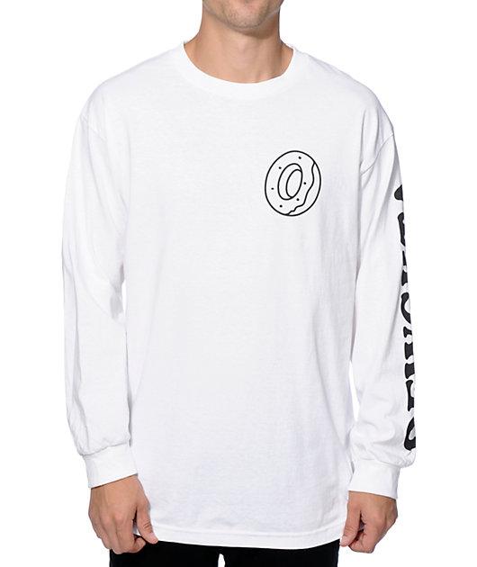 Odd Future Donut OFWGKTA Long Sleeve T-Shirt