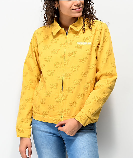 Odd Future Gold Gas Station Jacket