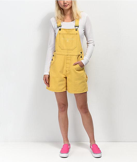 Odd Future Gold Overall Shorts