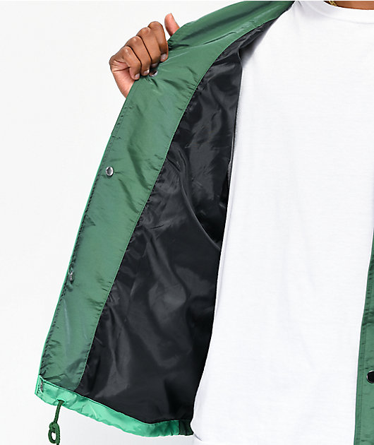 Odd Future Green Colorblock Coaches Jacket