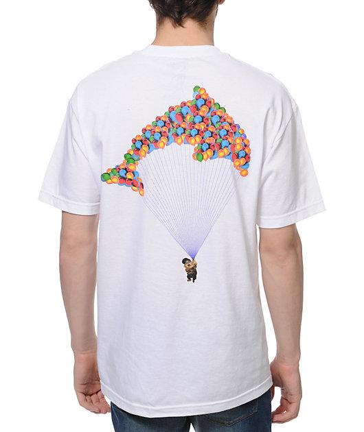 Odd Future Jasper Dolphin Balloon White T-Shirt