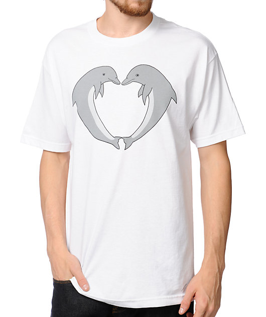 Odd Future Jasper Dolphins White T-Shirt