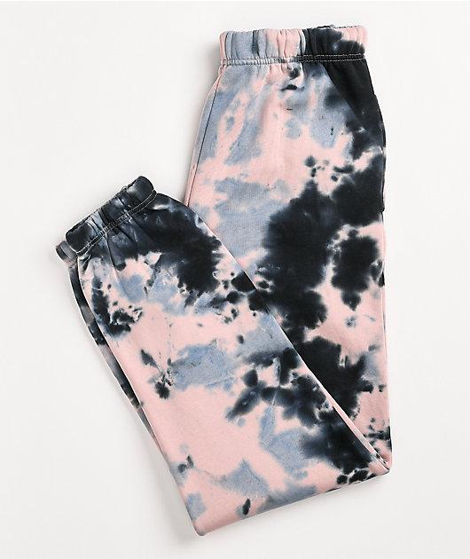 Odd Future Pink & Purple Tie Dye Sweatpants