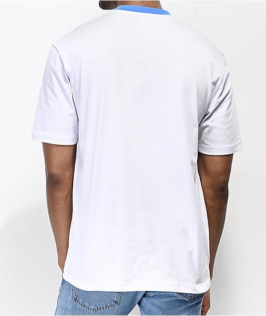Odd Future Placed Stripe White Knit T-Shirt