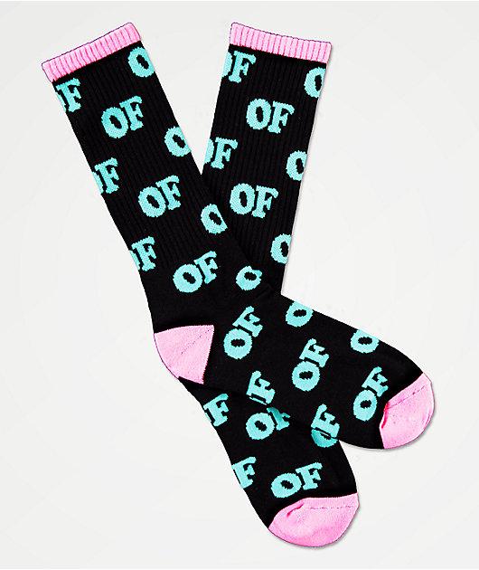Odd Future Repeat calcetines negros