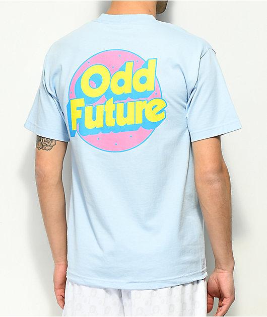 Odd Future Retro Logo camiseta azul claro