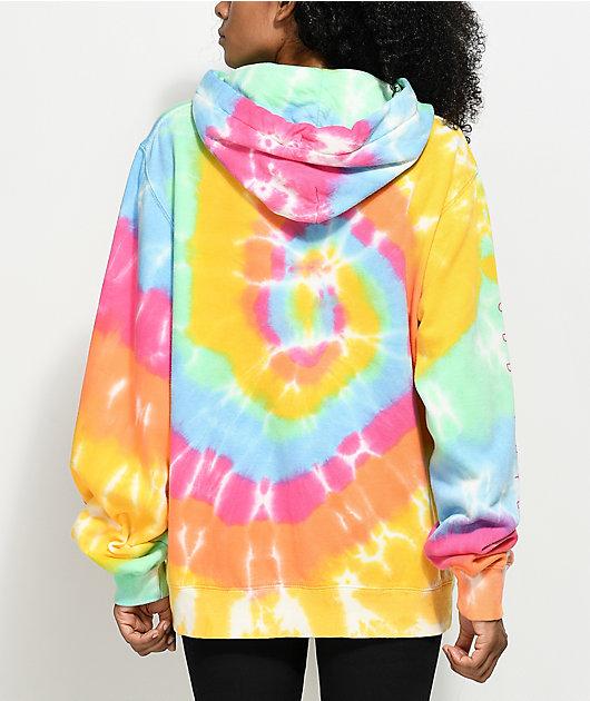 Odd Future Spiral Tie Dye Hoodie