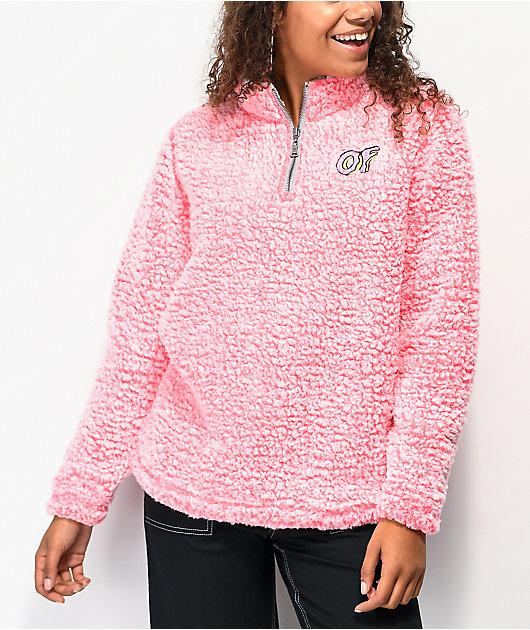Odd Future Wubby chaqueta rosa coral