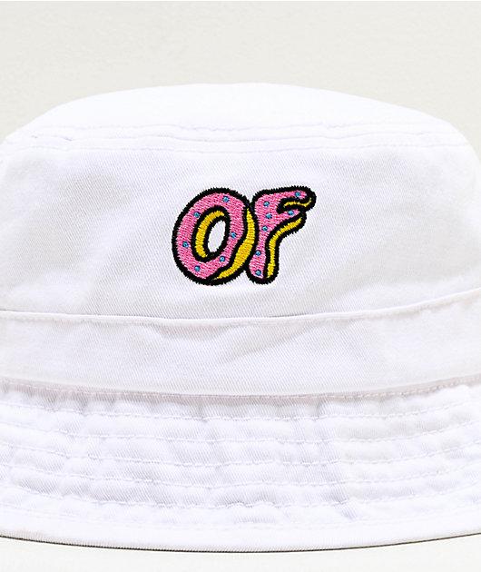 Odd Future sombrero de cubo blanco