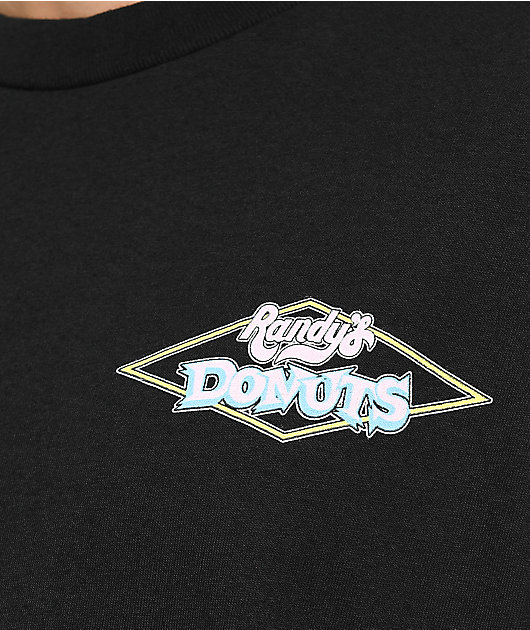 Odd Future x Randy's Donuts Big Donut Black Long Sleeve T-Shirt