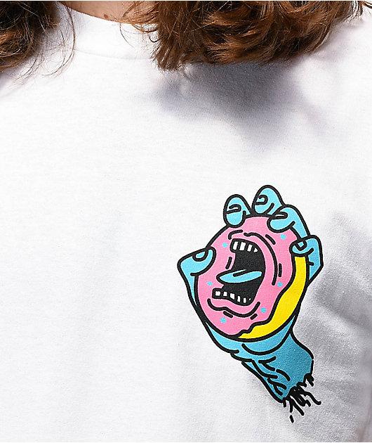 Odd Future x Santa Cruz Arm White T-Shirt
