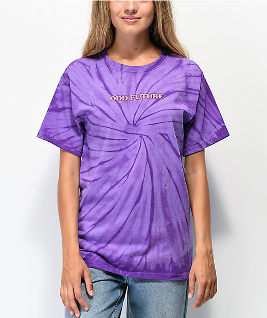 Odd Future x Santa Cruz Cyclone Purple Tie Dye T-Shirt