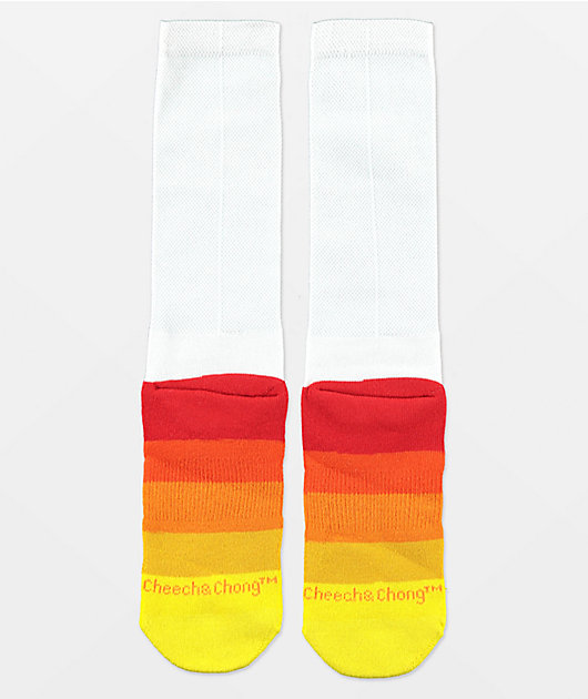 Odd Sox Cheech & Chong Smoked Out Crew Socks