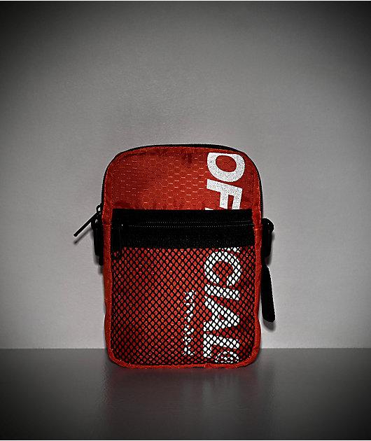 Official EDC bolso de hombro utilitario anaranjado