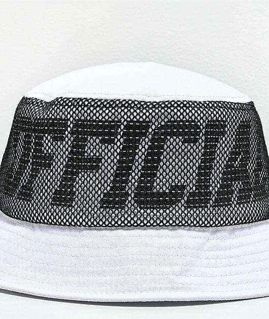 Official Melrose White Bucket Hat