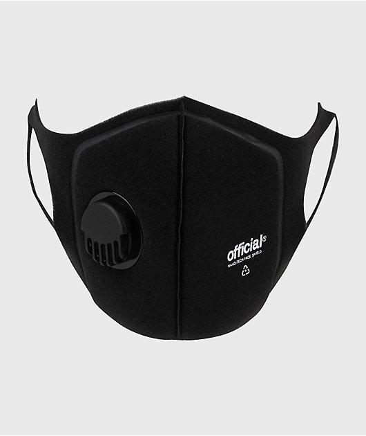 Official Nano-RPF Black Face Mask