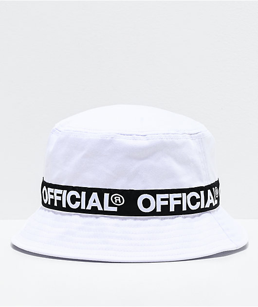 Official Repeat White Bucket Hat