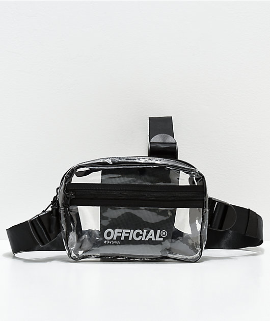 Official Translucent Utility Shoulder Bag