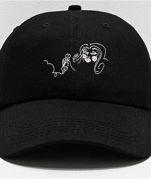 Old Friends 1-900 gorra negra y rosa