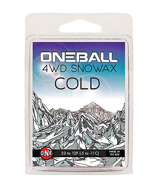 One Ball Jay 4WD Cold Mini Snowboard Wax