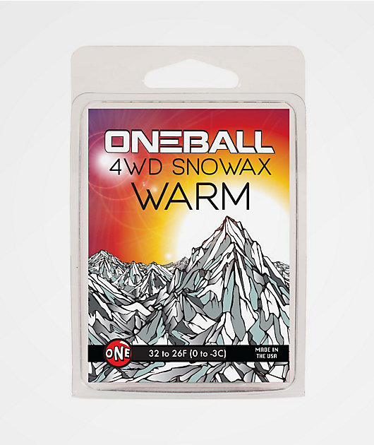 One Ball Jay 4WD Cool Mini Snowboard Wax