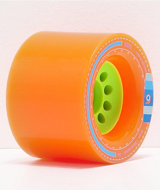 Orangatang Kegel 80mm 80a Orange Longboard Wheels